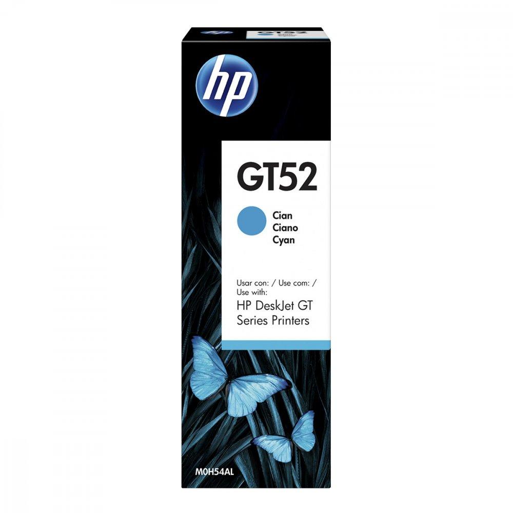 Refil de Tinta GT52 M0H54AL cor Ciano unidade HP  UN
