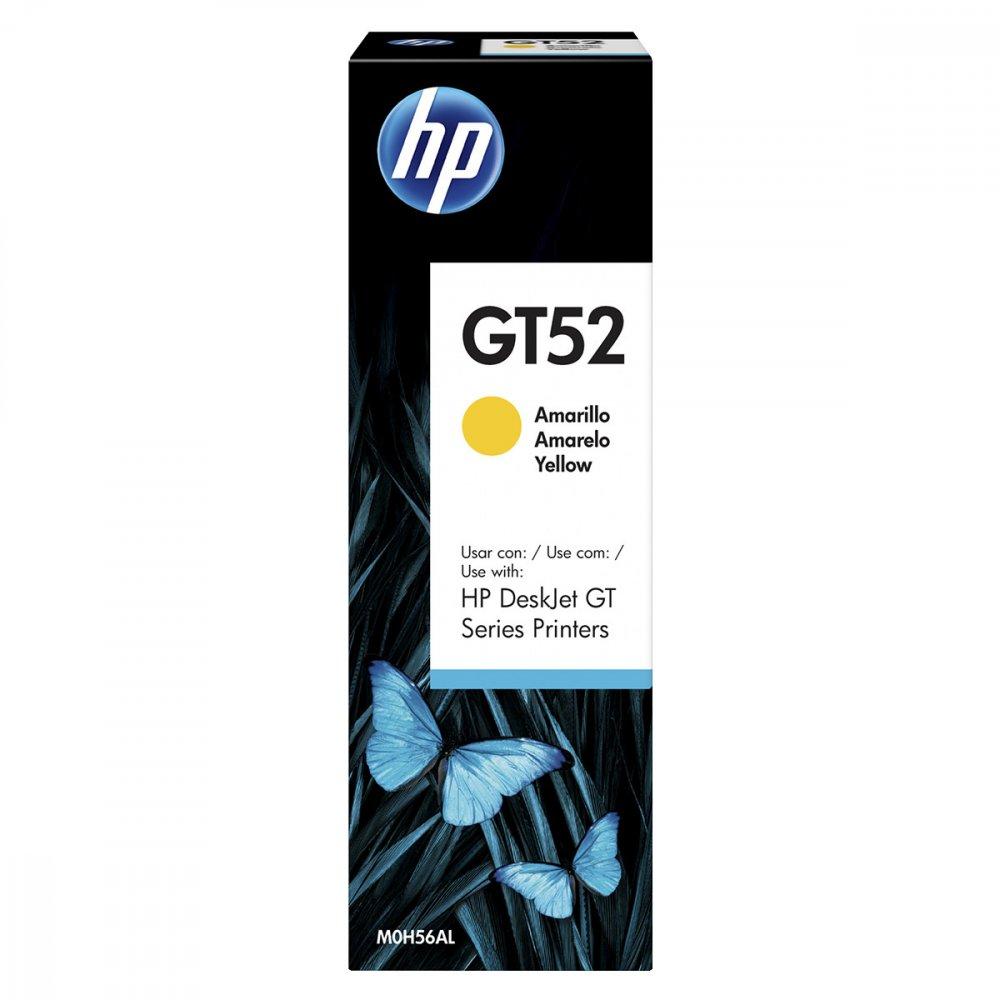 Refil de Tinta GT52 M0H56AL cor Amarelo unidade HP  UN