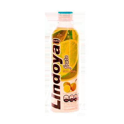 Refresco de Fruta sabor limão (suco) 400ml Genuína Lindoya pet UN