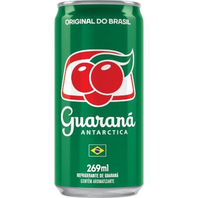 Refrigerante Guaraná 269ml Antarctica lata UN
