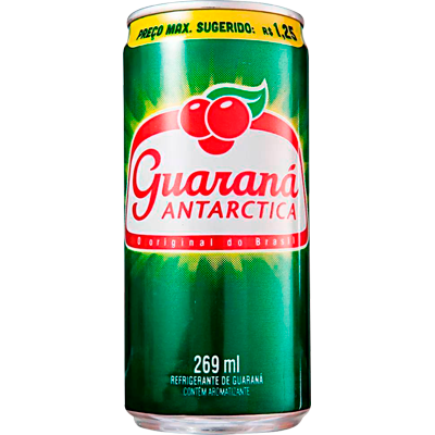 Refrigerante Guaraná Antarctica 269ml Antarctica lata UN