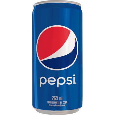 Refrigerante Pepsi Cola 269ml Pepsi lata UN