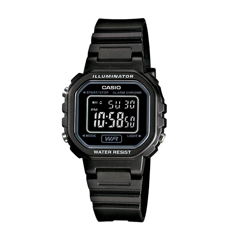 Relógio de Pulso Feminino Digital LA-20WH-1BDF Preto unidade Casio  UN
