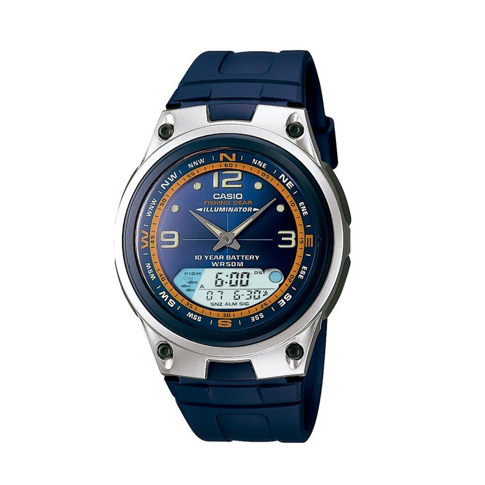 Relógio de Pulso Masculino Anadigi AW-82-2AVDF Azul unidade Casio  UN
