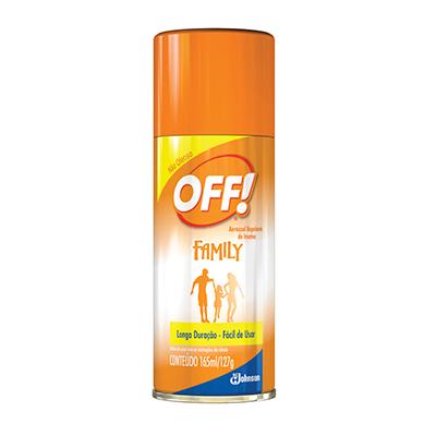 Repelente aerosol 165ml Off/Johnson  UN