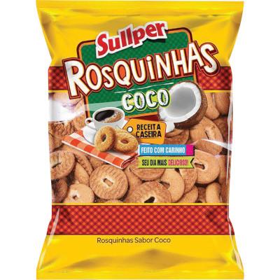 Rosquinha sabor Coco 700g Sullper pacote PCT