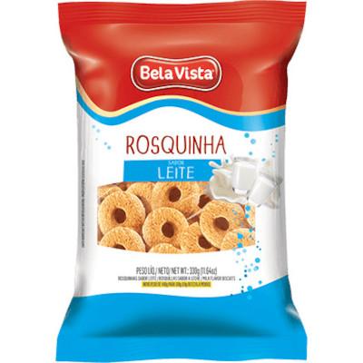 Rosquinha sabor leite 330g Bela Vista pacote PCT