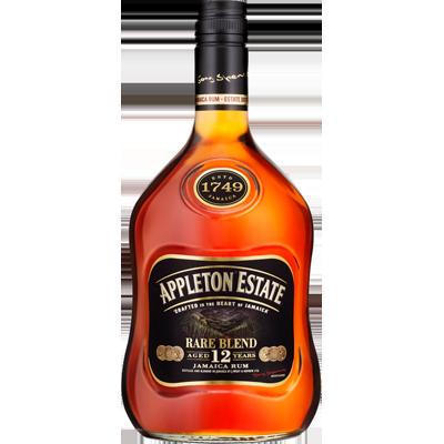 Rum Jamaica 12 anos Rare Blend 700ml Appleton Estate garrafa UN