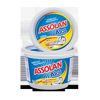 Sabão em pasta brilho 500g Ypê/Assolan  UN