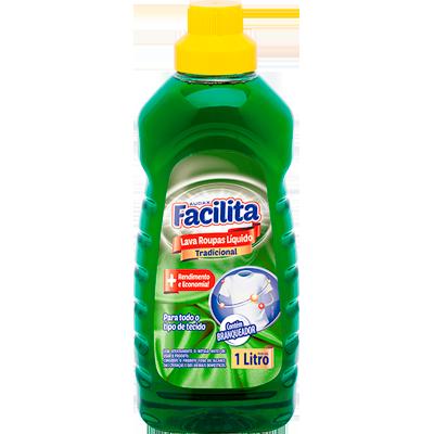 Lava-Roupas Líquido  1Litro Audax frasco FR