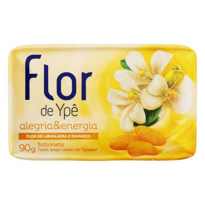Sabonete em barra Alegria & Energia 85g Flor de Ypê unidade UN