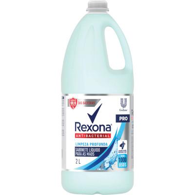 Sabonete Líquido Antibacteriano Limpeza Profunda 2Litros Rexona frasco FR