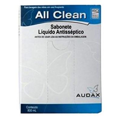 Sabonete líquido antisséptico 800ml Audax/All Clean  UN