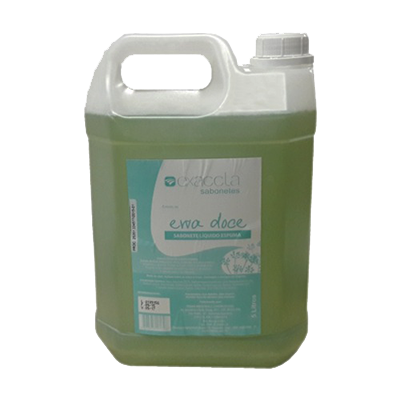 Sabonete líquido em espuma erva doce 5Litros Exaccta galão GL