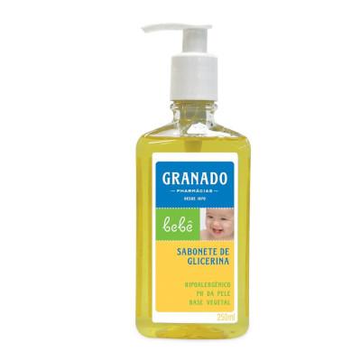 Sabonete Líquido Infantil Glicerinado 250ml Granado frasco UN