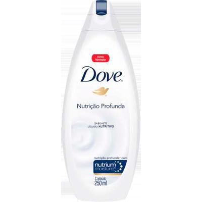 Sabonete líquido nutrição profunda 250ml Dove  UN