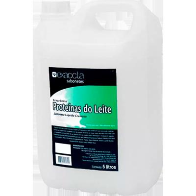Sabonete Líquido proteína do leite 5Litros Exaccta galão GL