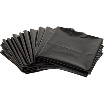Saco de lixo 60Litros preto 100 unidades BK pacote PCT