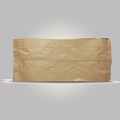Saco de papel B kraft mix 2kg Borim pacote UN