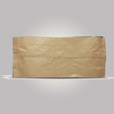 Saco de papel B kraft mix 4kg Borim pacote UN