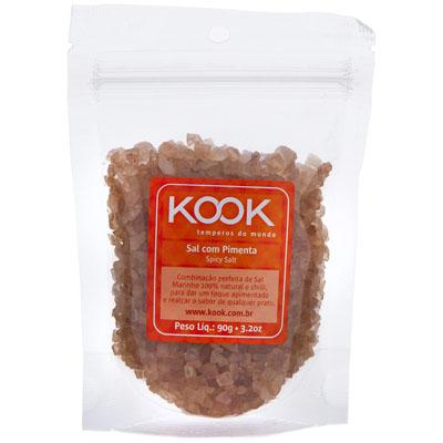 Sal com pimenta 90g Kook pacote UN