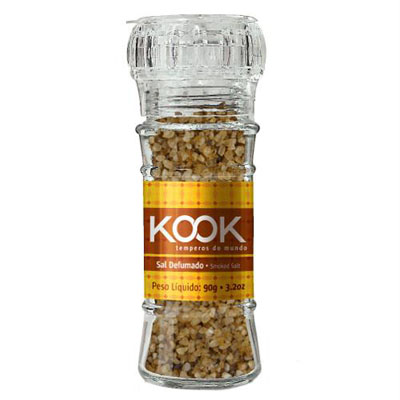 Sal defumado e moedor 90g Kook  UN