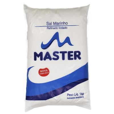 Sal Refinado  1kg Master pacote UN
