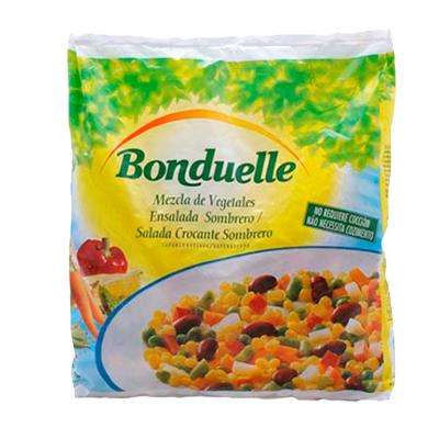 Salada Sombrero congelada 400g Bonduelle pacote UN