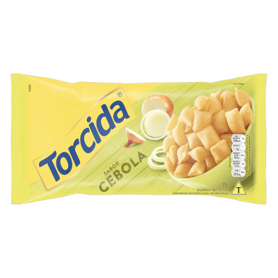 Salgadinho sabor Cebola 70g Torcida pacote UN
