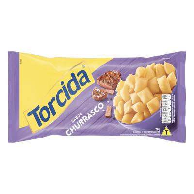 Salgadinho sabor Churrasco 70g Torcida pacote PCT