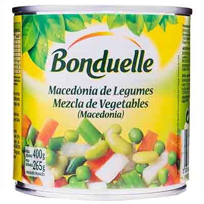 Seleta de Legumes em Conserva 265g Bonduelle lata UN