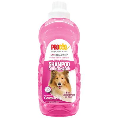 Shampoo 2 em 1 Toque Macio 1Litro Procão  frasco FR