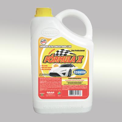 Shampoo automotivo com cera 1/100 5Litros Ecoville galão GL