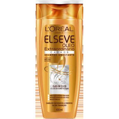 Shampoo Óleo de Coco Cachos 400ml Elseve/Óleo Extraordinário  UN
