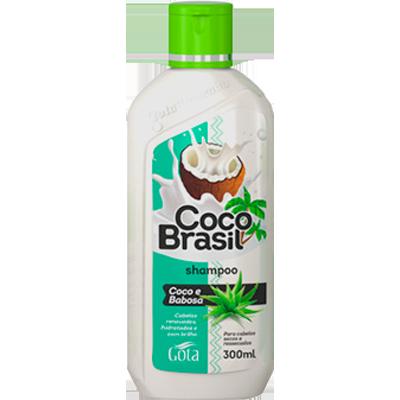 Shampoo coco e babosa 300ml Gota Dourada  UN