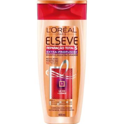 Shampoo extra profundo 400ml Elseve/Reparação Total 5  UN