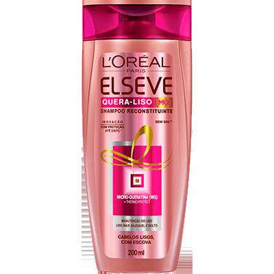 Shampoo Quera-Liso Reconstituinte 200ml Elseve  UN