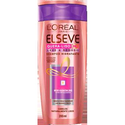 Shampoo quera solto 200ml Elseve  UN