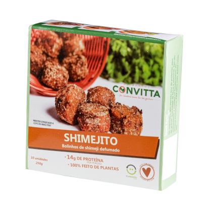 Shimejito Bolinhos de Shimeji Defumado 250g Alimentos Convitta  UN