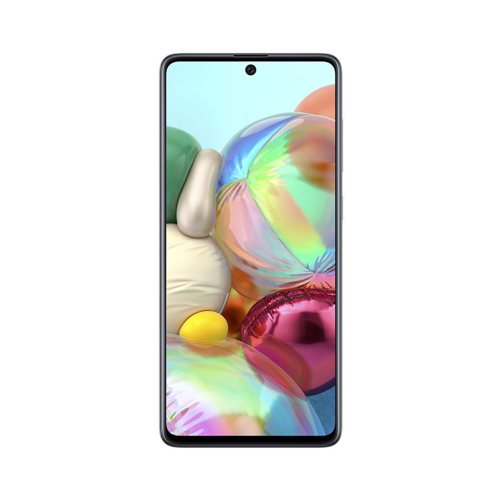 "Smartphone Galaxy A71 128GB 4G Tela 6.9"" Câmera Quádrupla 64MP Selfie 32MP Android 10.0 Cinza unidade Samsung  UN"