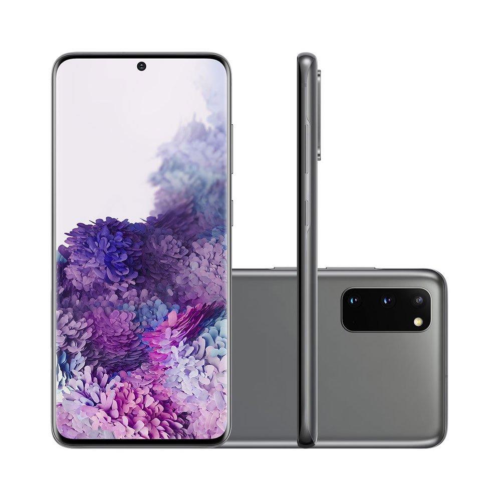 "Smartphone Galaxy S20 128GB 4G Tela 6.2"" Câmera Tripla 64MP Selfie 10MP Android 10.0 Cinza unidade Samsung  UN"