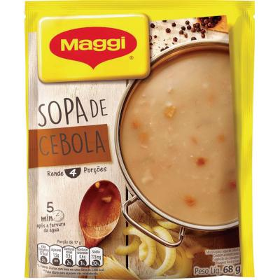 Sopa de Cebola 68g Maggi pacote PCT