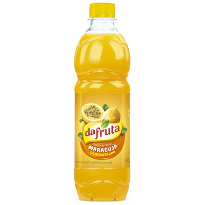 Suco concentrado sabor maracujá 500ml Dafruta garrafa UN