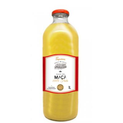 Suco de Fruta sabor maçã 1Litro Superbom garrafa UN