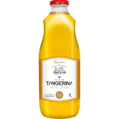 Suco de Fruta sabor tangerina 1Litro Superbom garrafa UN