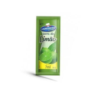Suco de Limão  unidades de 6/8ml Lanchero caixa CX