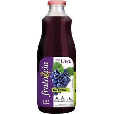 Suco integral sabor uva 1,5Litros Superbom garrafa UN