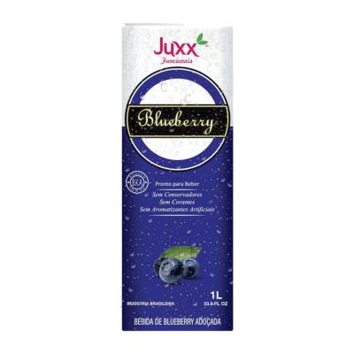 Suco sabor blueberry 1Litro Juxx Tetra Pak UN