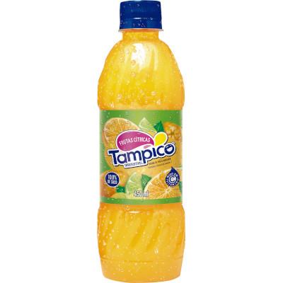 Suco sabor Frutas Cítricas 450ml Tampico pet UN