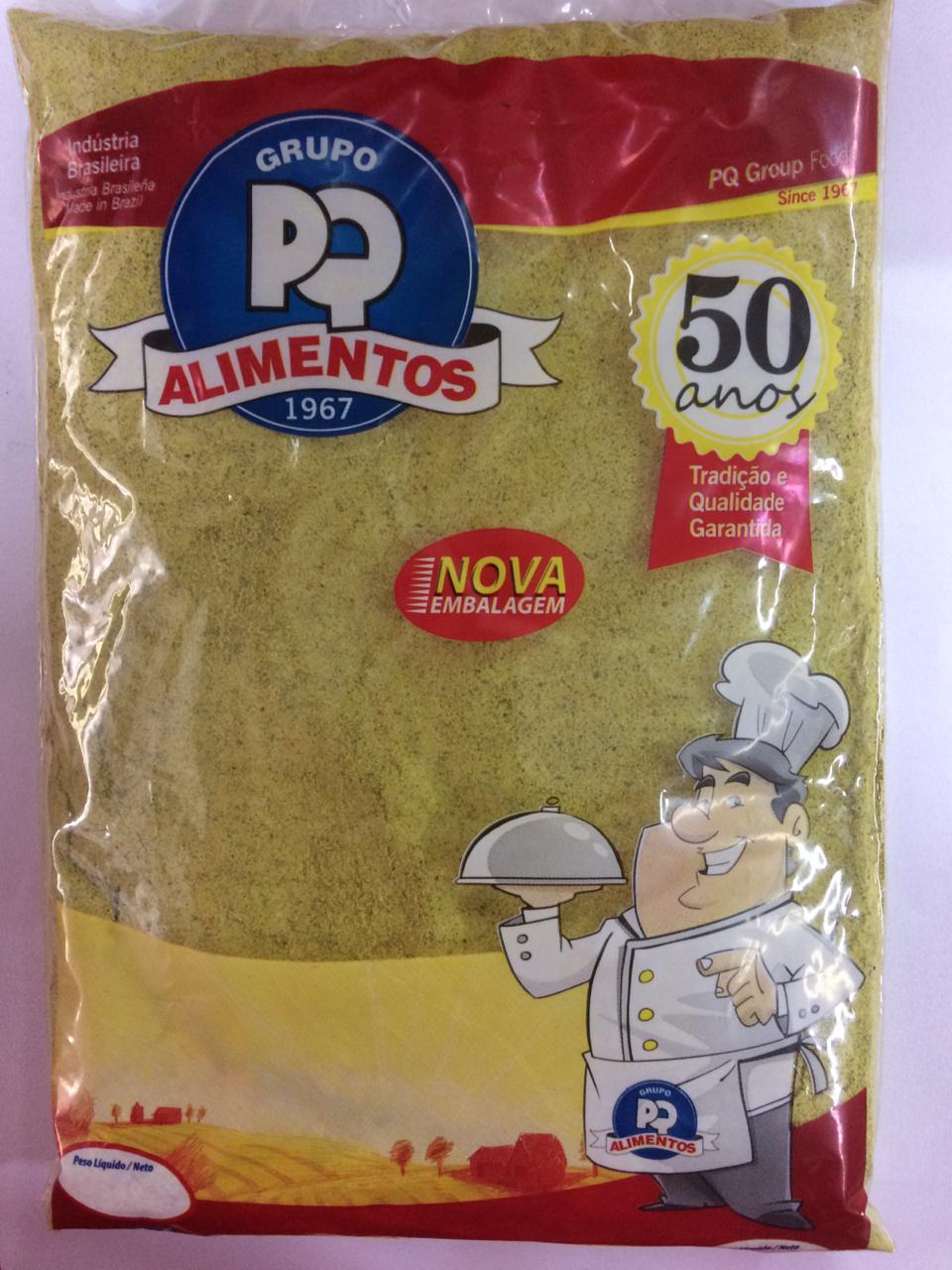 Tempero baiano 500g PQ Alimentos pacote PCT